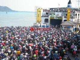Puncak Arus Mudik di Pelabuhan Merak Diprediksi 30 Mei sampai 1 Juni
