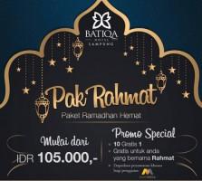 Punya Nama Rahmat, Bisa Berbuka Puasa Gratis di Batiqa Hotel