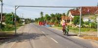 PUPR Tubaba Pasang Portal di Jalan Lingkar Kota