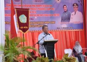 Purwoasri Wakili Metro Pada Lomba PKK KKBPK Kes Tingkat Provinsi Lampung