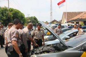 Puslitbang Polri Gelar Pemeriksaan Randis Anggota Polres Metro