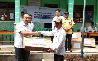 Pusri Kembali Salurkan Bantuan Logistik untuk Korban Tsunami