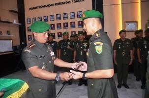 Putra Asli Bandar Lampung Jadi Dandim 0410 KBL