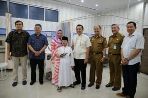 Putra Gubernur Lampung Khitan di RSUDAM
