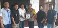 PWI Lampung Utara Silaturahmi ke Mapolres