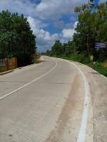 Baru Selesai Dibangun, Jalan Rigid Beton Ruas Wates-Bangunrejo Dihantam Truk 50 Ton