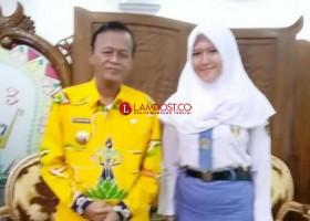 Rafika, Siswi dari Metro Jadi Anggota Paskibraka HUT RI di Istana
