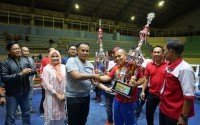 Raih 9 Emas,  Atlet Lampung Selatan Sabet Tiga Kategori Juara Umum Kejuaraan Tinju Amatir