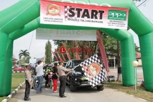 Rally Wisata Tour Tulangbawang Barat Diikuti 100 Kendaraan