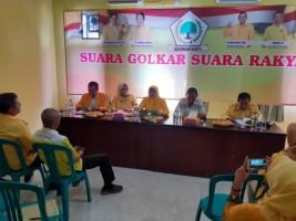 Rapat Pleno Golkar, Tiga Nama Diusulkan Jadi Ketua DPRD Metro