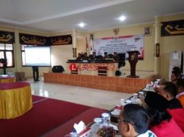 Rapat Pleno Rekapitulasi Dipindah ke Aula Polres Tanggamus