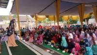 Ratusan Jamaah Al-hidayah Palas Saksikan Tausiah Ustadzah Nabila