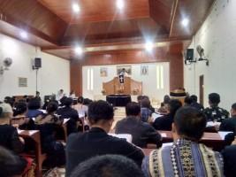 Ratusan Jemaat HKBP Bergen  Ikuti Jumat Agung