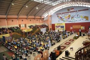 Ratusan Mahasiswa Ikut Seleksi Olimpiade Nasional di Teknokrat