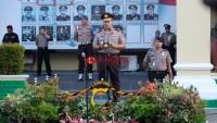 Ratusan Personel Polda Lampung Naik Pangkat Termasuk Dirreskrimum dan Kabid Humas
