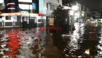 Ratusan Rumah  di Pinggir Kali Belau Teluk Terendam Banjir