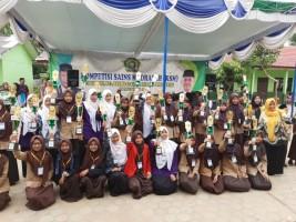 Ratusan Siswa KKM Lamsel Ikuti KSM Tingkat Kabupaten