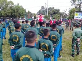 Ratusan Siswa SMK Pangudi Luhur Dilatih Disiplin