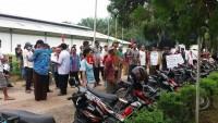 Ratusan Warga Demo PT SIP Tuntut CSR