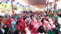 Ratusan Warga Katibung Hadiri Pengajian Peringatan Tahun Baru Islam