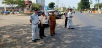 Razia Gabungan Satlantas Polres Lamsel dan Dispenda Jaring Puluhan Kendaran