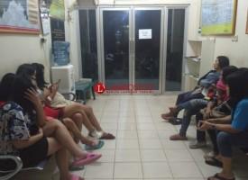 Razia Hiburan Malam, Belasan PSK dan Pengunjung Terjaring