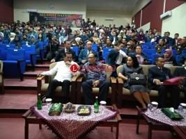 Rektor Unila Ajak Jagung Tinjau Sarpras Program Doktor Hukum Unila
