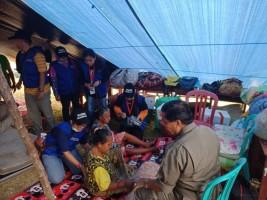 Relawan Bandar Lampung Ditempatkan di Donggala