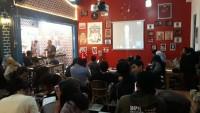 Relawan Demokrasi Berbasis Warganet Gelar Nobar Debat