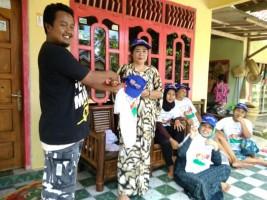 Relawan Garuda Geriliya Sosialisasikan Rhido-Bachtiar