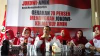Relawan Nusantara Presiden Center Siap Menangkan Jokowi-Amin di Angka 70%