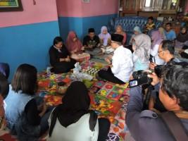 Relawan Sambangi Rumah Tuty Tursilawati di Majalengka: Buruh Migran Harus Dilindungi.