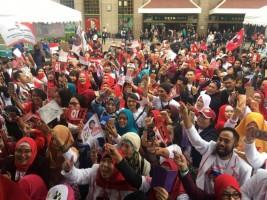 Sukarelawan Targetkan Jokowi-KH Ma'ruf Menang 100% di Taiwan