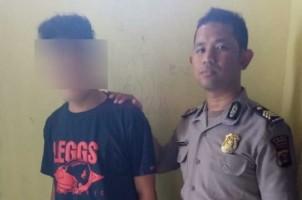 Remaja Penjambret Handphone Berhasil Dibekuk Jajaran Polsek Pringsewu
