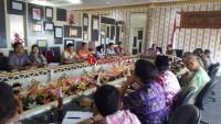 Reses di Tanggamus, Anggota DPD Bahas Kerjasama Produksi Air Minum Kemasan