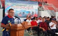 Resmi Dibuka, Lamsel Jadi Tuan Rumah Kejuaraan Tinju Amatir Se-Sumbagsel dan Banten