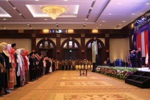 Resmi Dilantik, 61 Anggota Bawaslu Siap Awasi Pemilu 2019