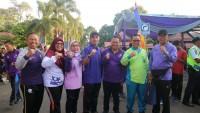 Ribuan Peserta Meriahkan Jalan Sehat Dies Natalis FKIP Unila