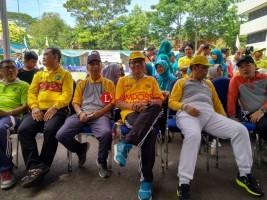 Ribuan Peserta Ramaikan Jalan Sehat Unila