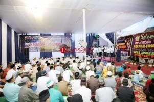 Ridho Ficardo Resmikan Masjid Al Furqon dan Buka Bersama Warga