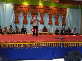 Ridho Hadiri Acara Doa dan Buka Bersama Keluarga Besar Sekala Brak