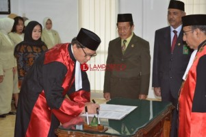 Ridwan Masyur Jabat Waka PT Tanjungkarang