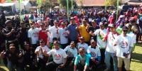 RIK Sosialisasi Keberhasilan Jokowi dengan Gerak Jalan