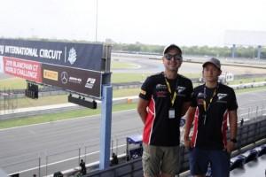 Rio Haryanto dan David Siapkan Diri di Sirkuit Buriram