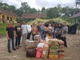 Risma Alhuda Kemiling Salurkan Bantuan Korban Tsunami