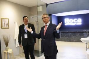 Roca Ramaikan Ajang Indo Build Tech 2019