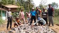 Rp84 Juta Untuk Pembangunan Jalan Dusun 2, Desa Kemalo Abung