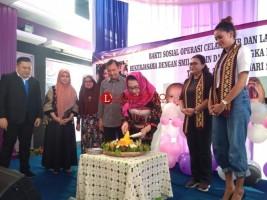 RSIA Mutiara Putri Kembali Gelar Operasi Bibir Sumbing Gratis