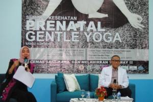 RSUDAM Gelar Seminar Prenatal Gentle Yoga