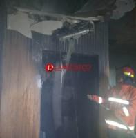 Ruang Sauna Pusat Kebugaran Olympus Terbakar